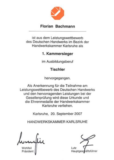 Tischler Karlsruhe a mano schreinerei über uns